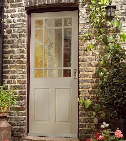 Bosworth glazed door & Bosworth M | External Hardwood Doors | Doors u0026 Joinery | Howdens ...
