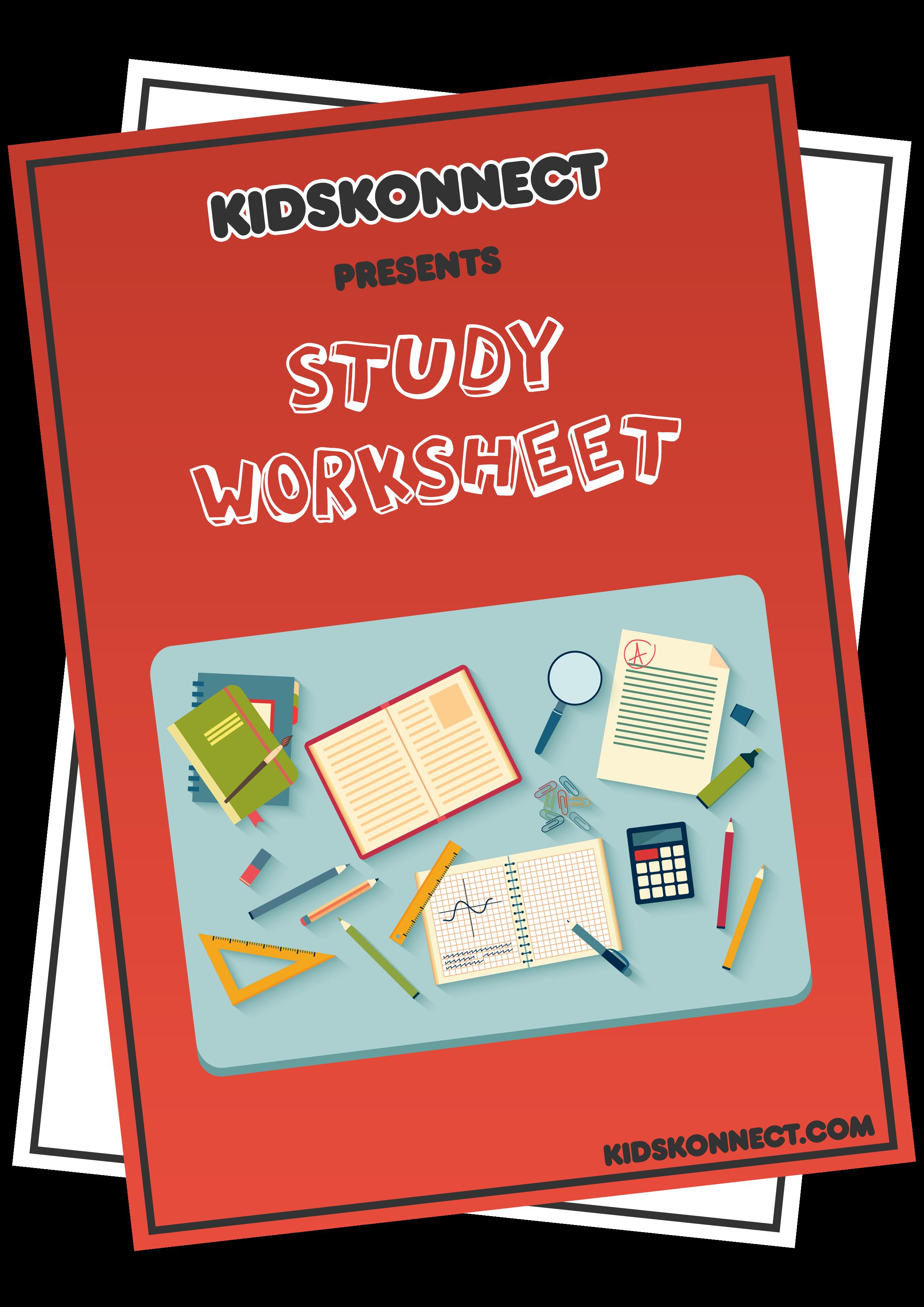 Study Worksheet Default