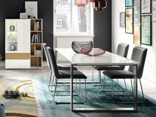 Hülsta now et Étkezőasztal kast modern
