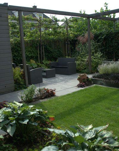 Pergola over terras tuin ideetjes pinterest pergolas gardens and garden ideas - Smeedijzeren pergolas voor terras ...