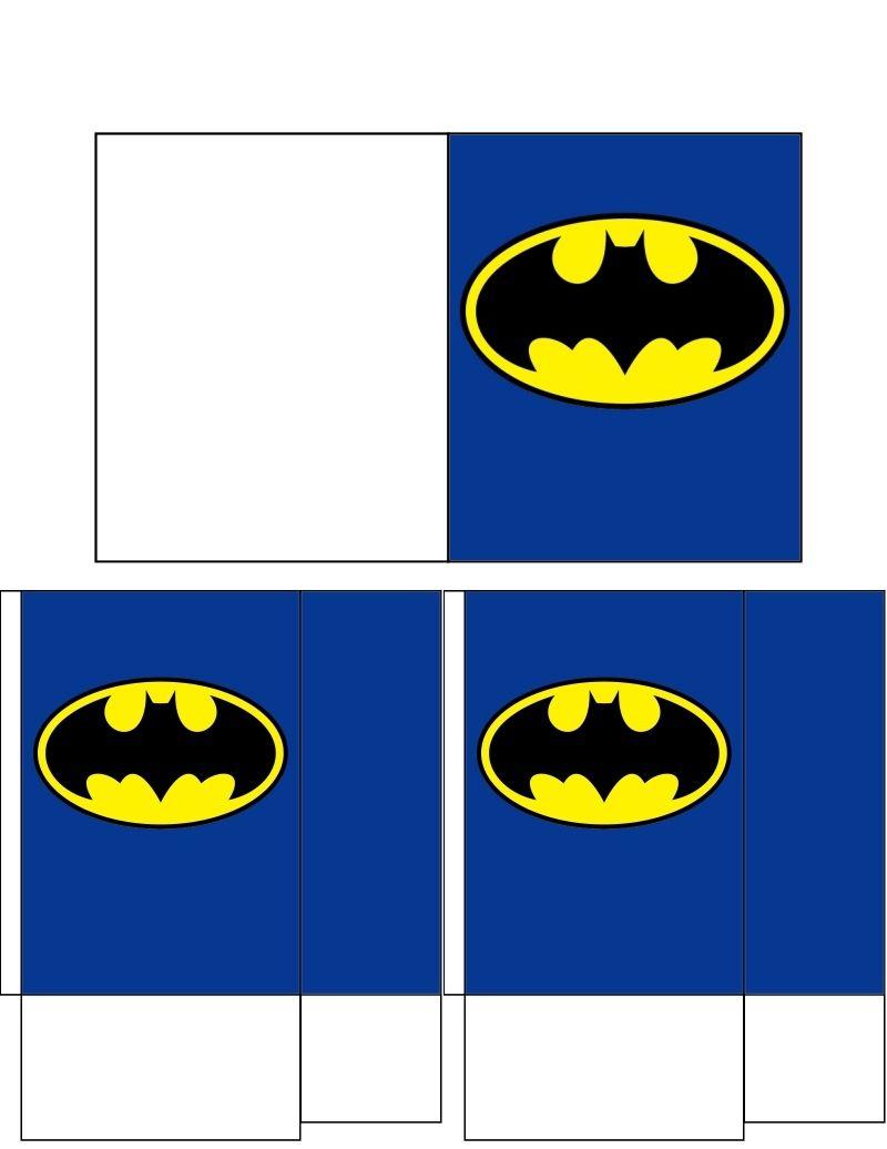 Batman Gift Bag & Card   - - - - - - Batman Theme ...