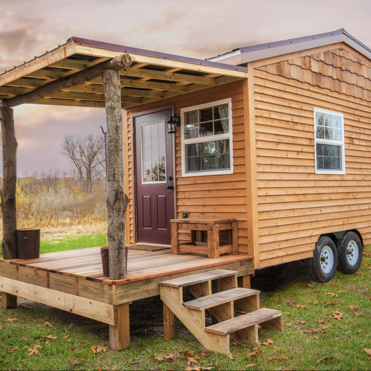 The Petite Cabin Tiny House For Sale In Huntington Indiana Tiny House Ideas Cottages Tiny House Listings Backyard Guest Houses