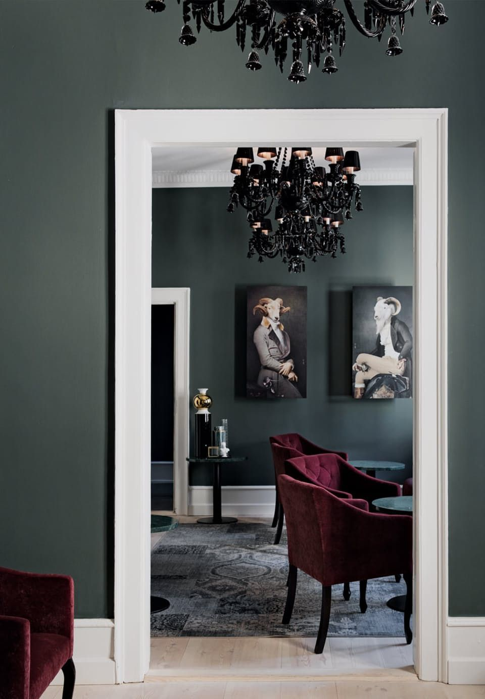 En af Københavns mest ikoniske ejendomme | Wandfarbe, Wandgestaltung ...