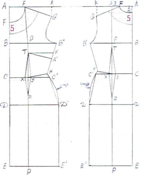 Favoloso Cartamodelli di tubini - Cartamodello tubino classico | Cucito  AO05