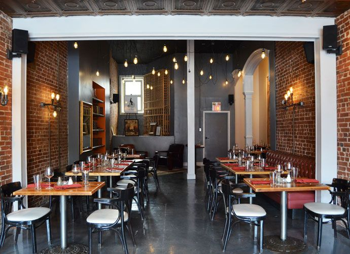 Polite Society quietly opened in the in Lafayette Square at 1923 - new blueprint coffee watson