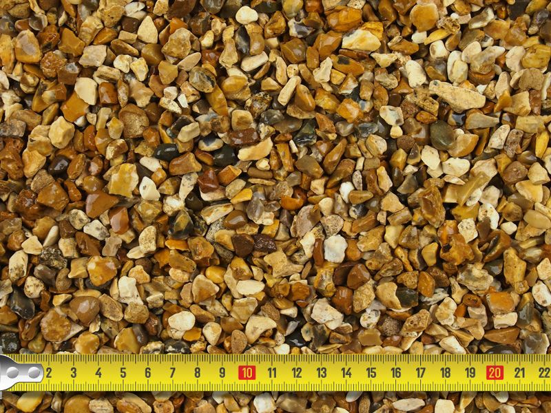 Southern Gold Gravel 10mm Bulk Bag Golden Gravel Decorative Gravel Gravel