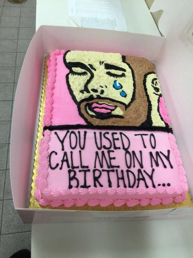 29 Incredible Cakes For The Drake Fan In All Of Us Nevaeh