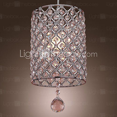 Lámparas colgantes , moderno / contemporáneo cromo característica ...