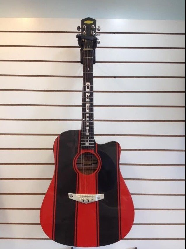Esteban Limited Edition Chevy Camaro Acoustic Electric Guitar SOLD Was Available At Gadgets And