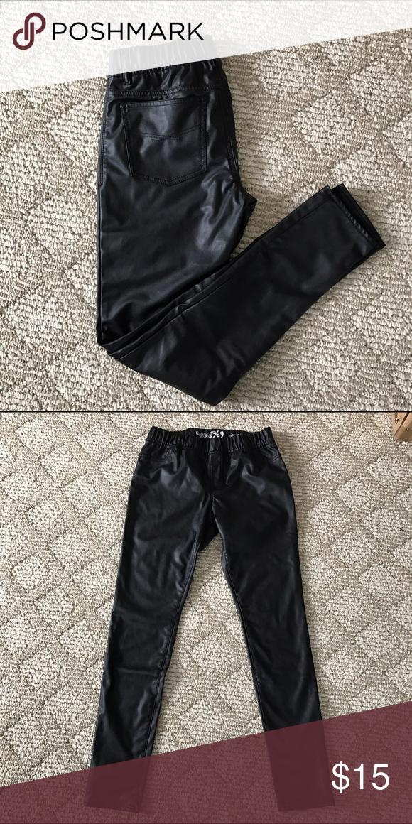 daa3a561a3b91b Gap kids 1969 black faux leather leggings pant New without tag. Gap Kids  1969 black faux leather leggings pant. Size 16 reg (can fit women's size  0-2).