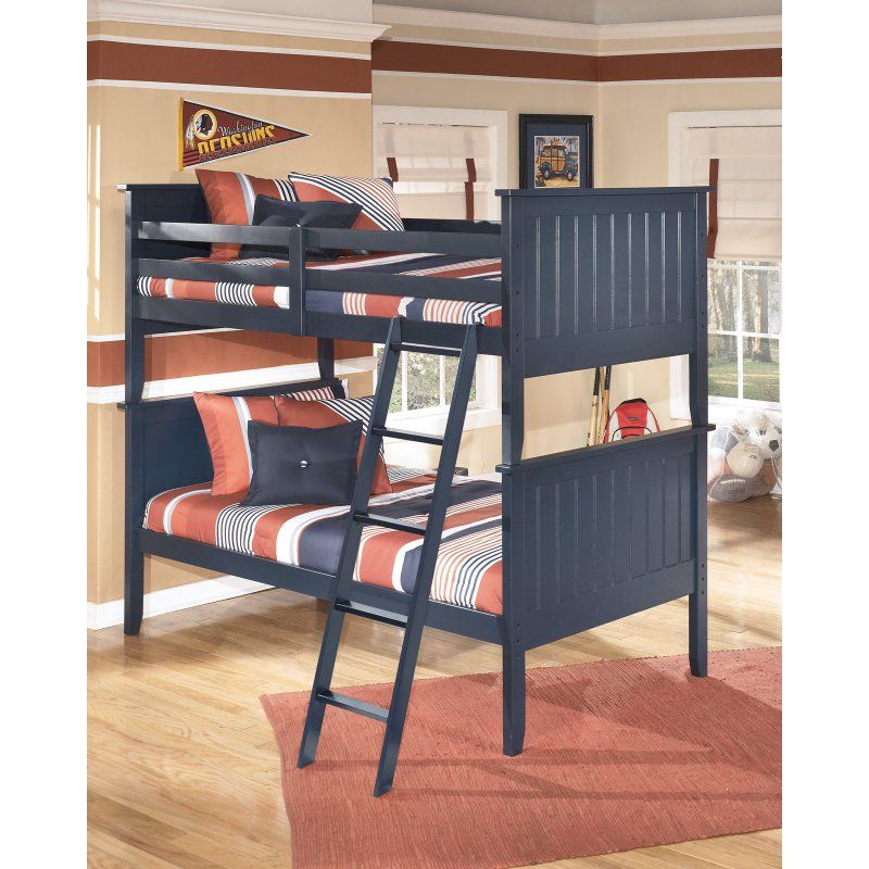 Best Signature Design By Ashley Leo Twin Over Twin Bunk Bed 640 x 480