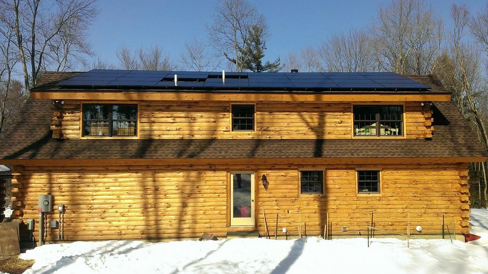 Solar Powered Cabin Home