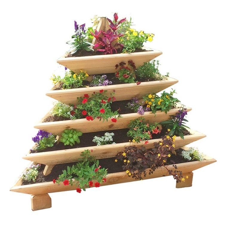 Jardineras verticales ideas sencillas para colgar for Ideas para colgar plantas