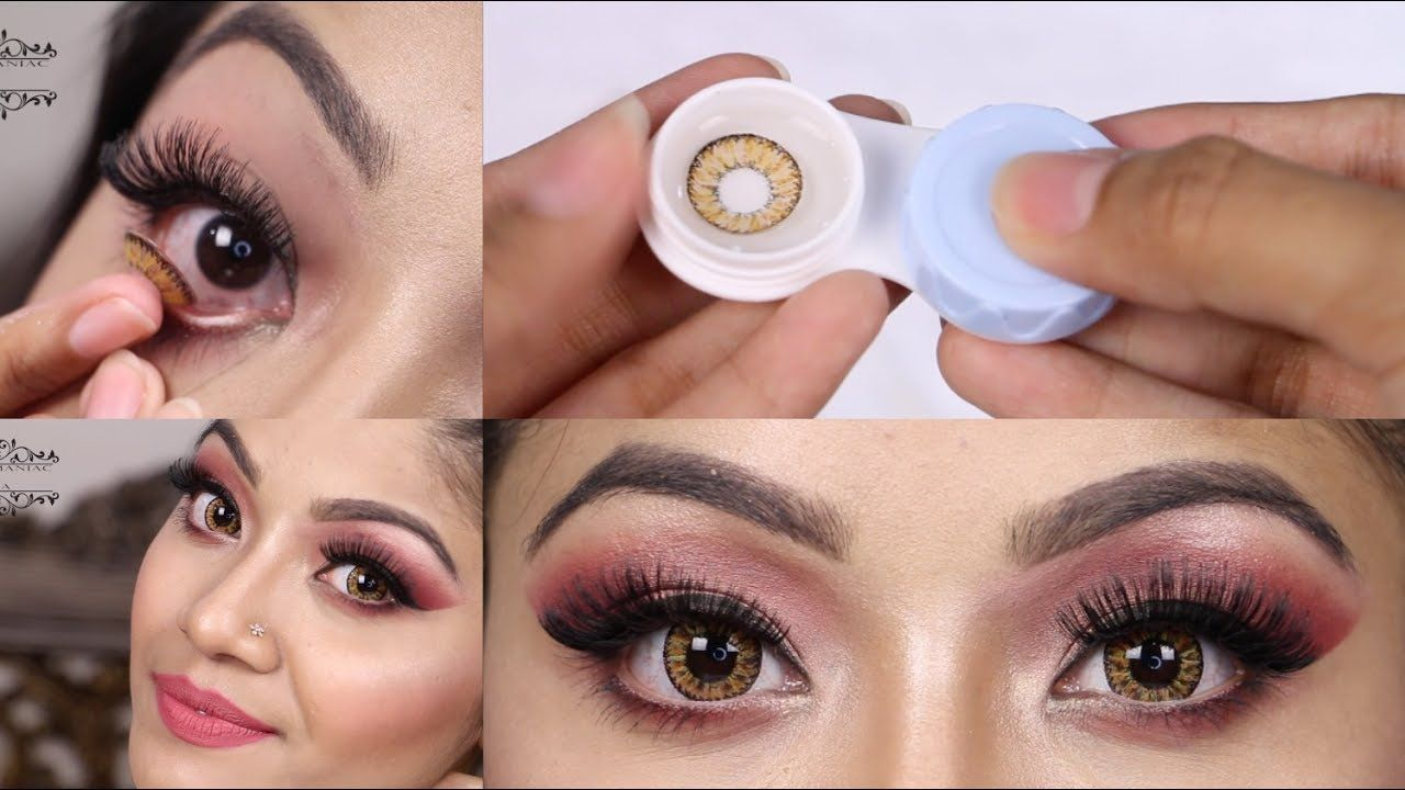 How To Put On Contact Lenses And Remove Tips On How To Store Contact L Contact Lenses Contact Lenses Tips Contact Lenses Colored