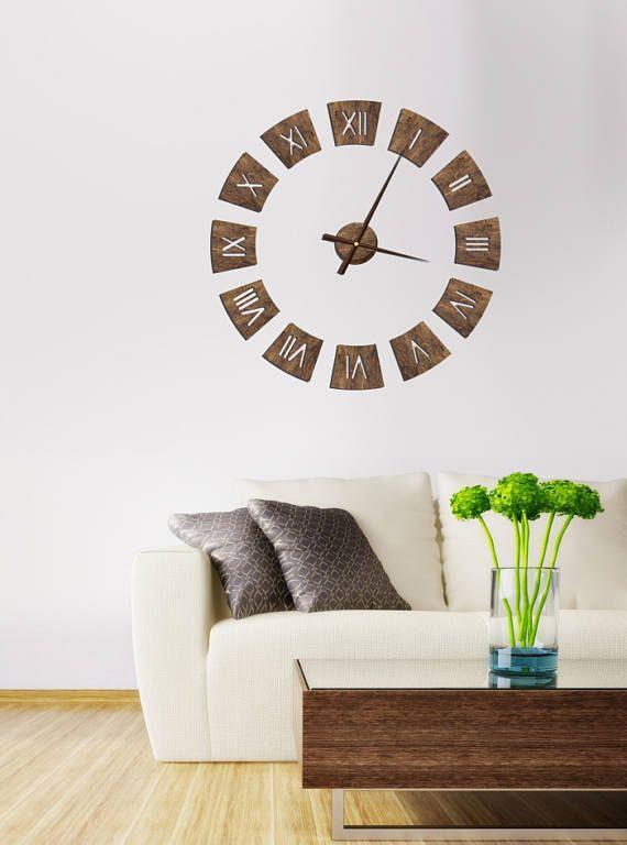 Römische Wand Uhr Wand Uhr Holzhaus Uhr moderne moderne Uhr ...