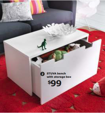 Highlights from the New 2013 IKEA Catalog   Coffee Table & Storage!