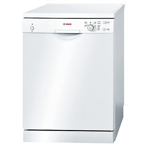 Buy Bosch SMS50C02GB Freestanding Dishwasher, White Online at johnlewis.com
