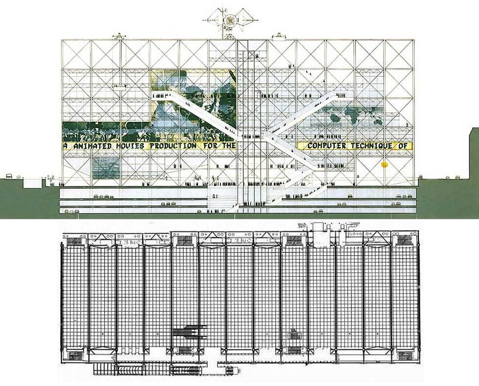 Centro Pompidou Design And Home Pinterest Drawing