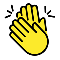 Clapping Hands Sign Emoji In 2020 Clapping Hands Emoji Change Your Eye Color Clap Emoji