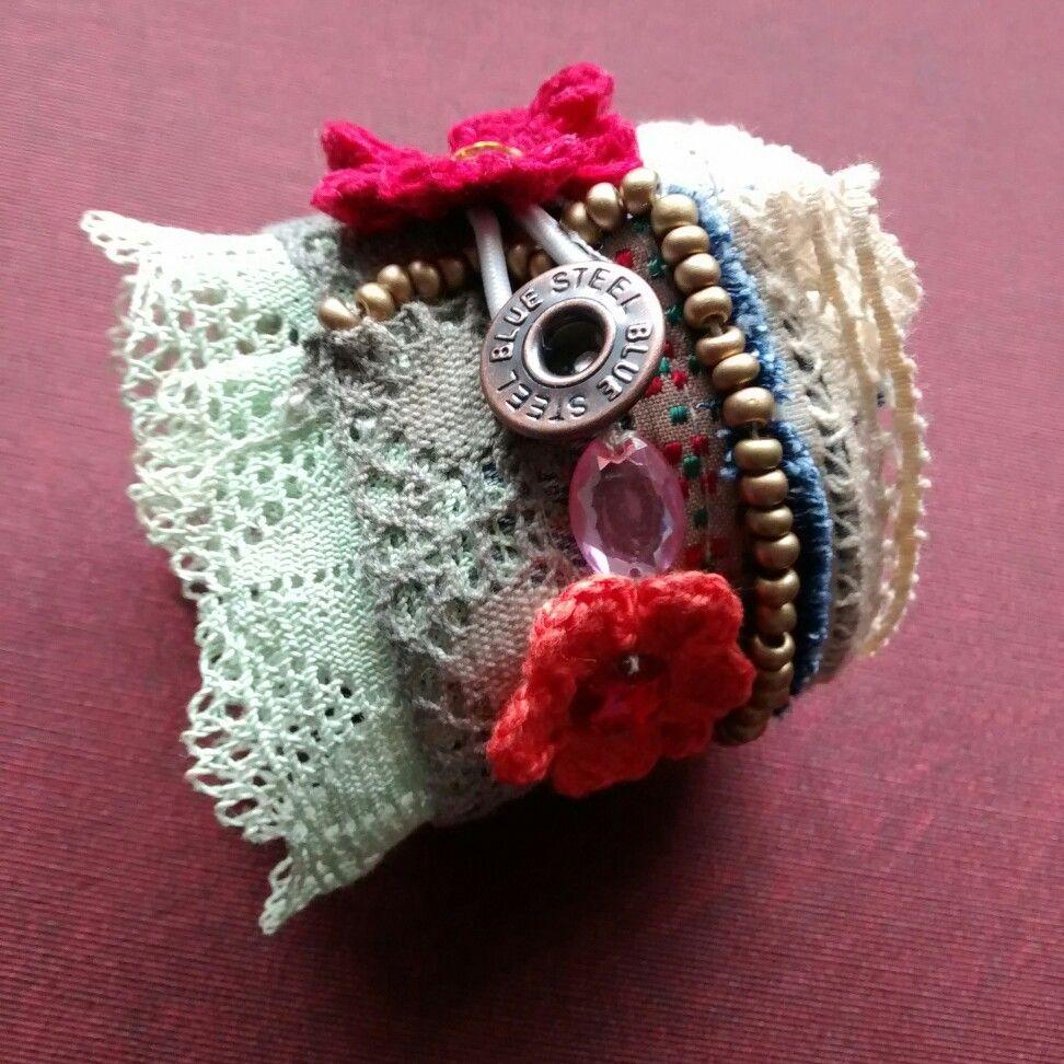 Bracelete Artesanal  #soniartes #euquefiz