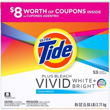 I M Learning All About Tide Ultra Plus Bleach Vivid White Bright Clean Breeze Powder Laundry Detergent At Influenster Powder Laundry Detergent