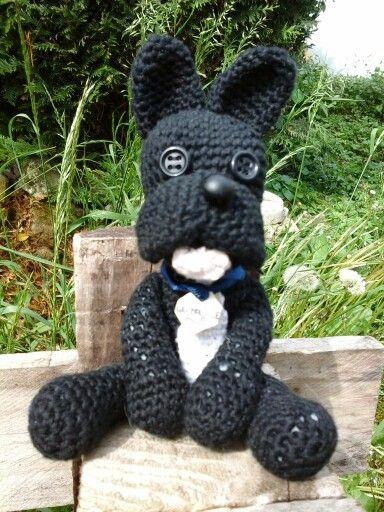 Bulgog français Crochet fait main