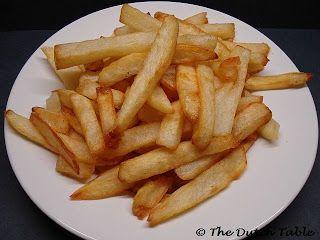 Patat (Dutch French Fries)