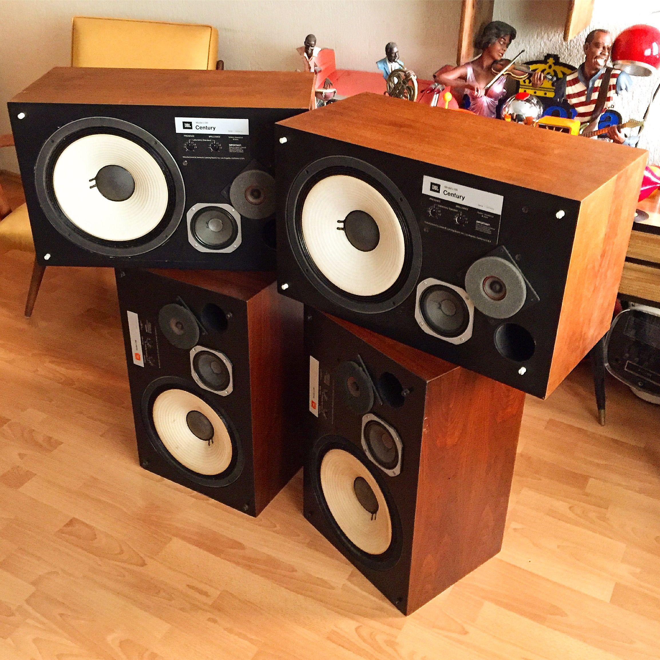 Jbl L100 Speaker Stereovintage Hifi Audio Hifi Speakers Vintage Speakers
