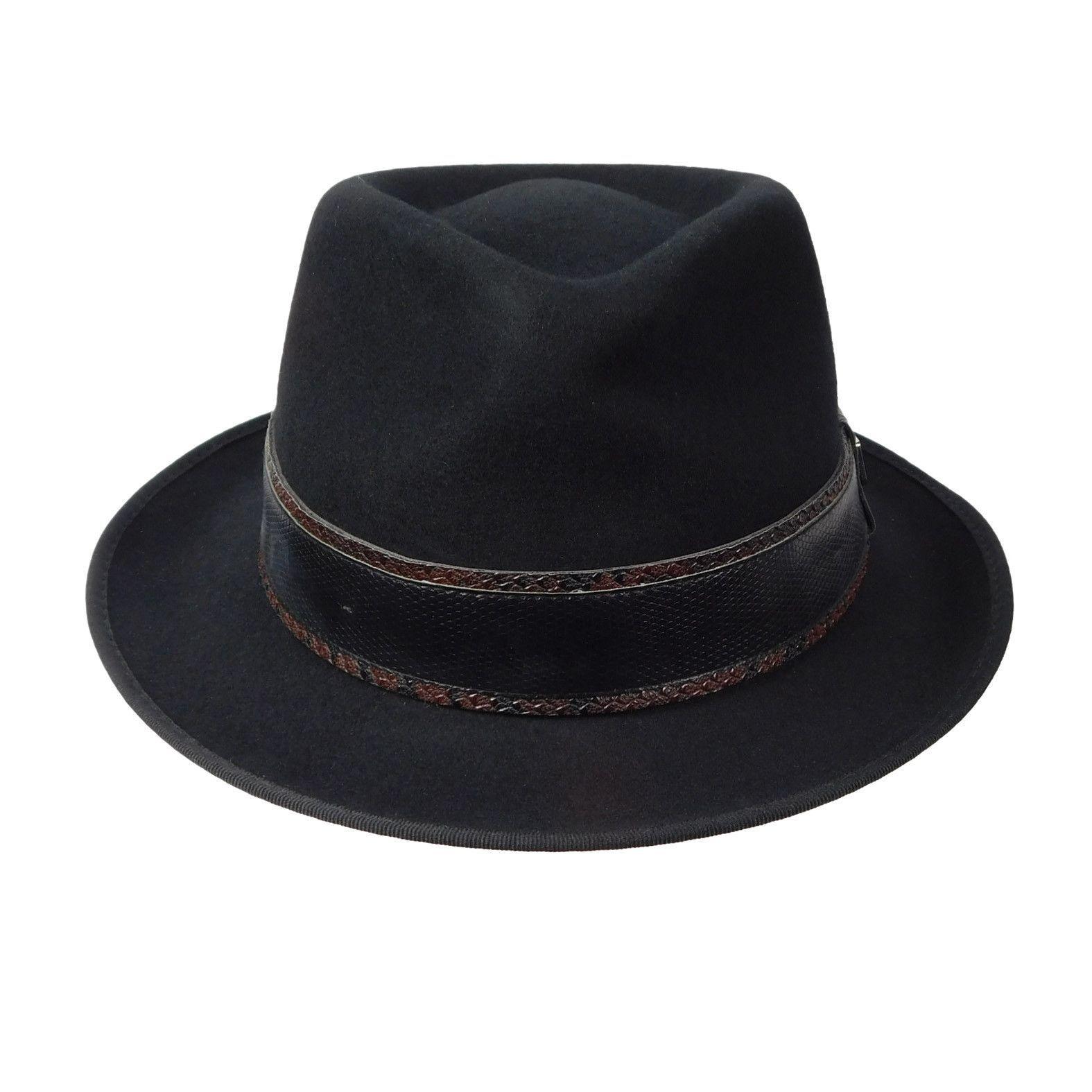 1ed9ee64b7a Crushable wool felt hat. 2 1 8