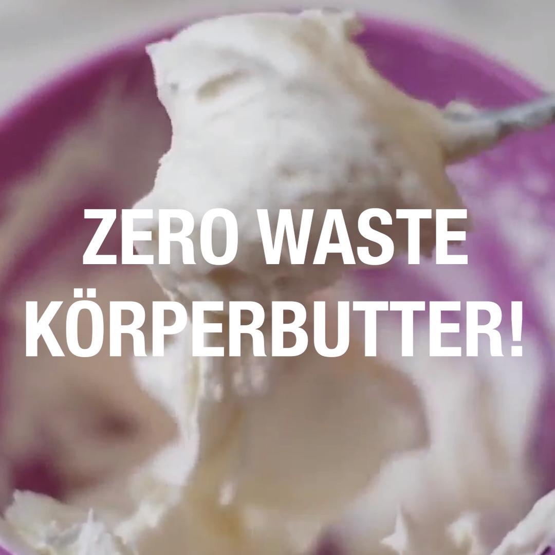 DIY Zero Waste Körperbutter