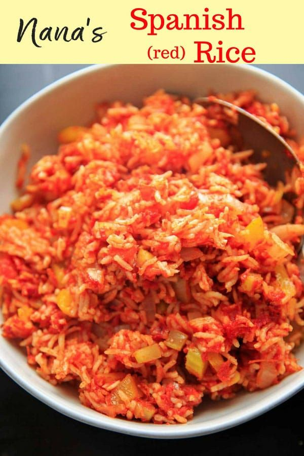 Nanas Spanish Rice