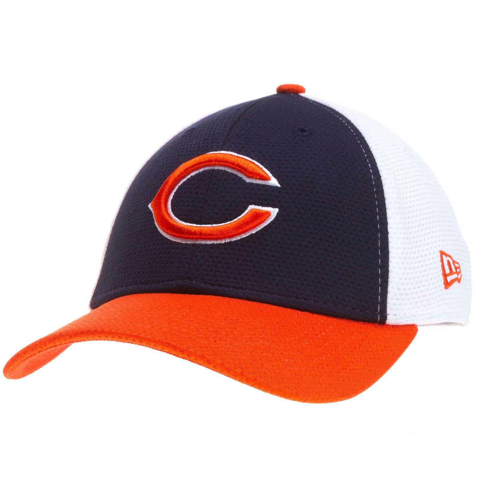 dc2c6cf1f ... ireland chicago bears tri color triple logo flex fit hat by new era  chicago e28c7 020e3