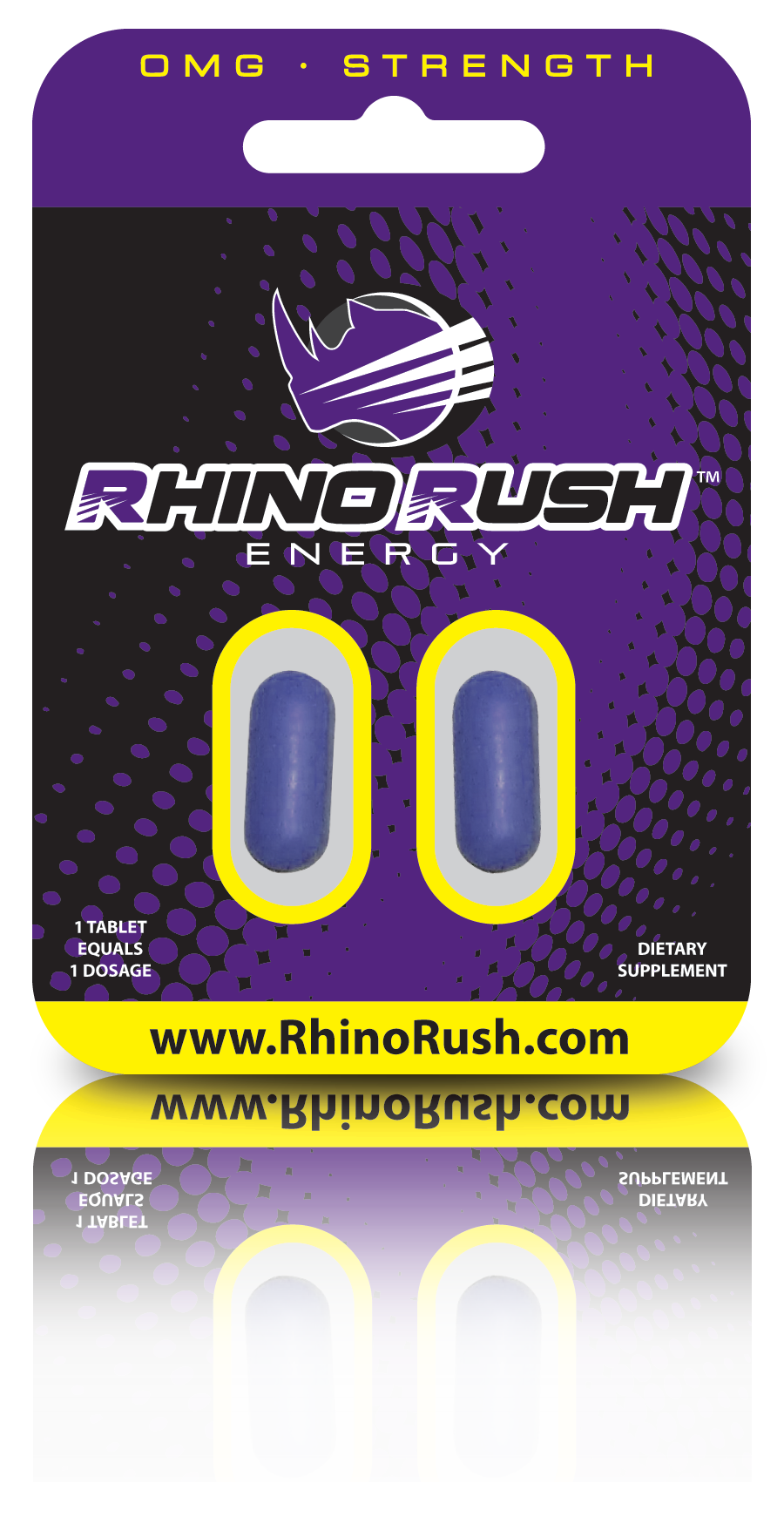 Rhino Rush Energy Tablets Are The Best Source Of Energy On The Market Energy Sources Energy Tablet