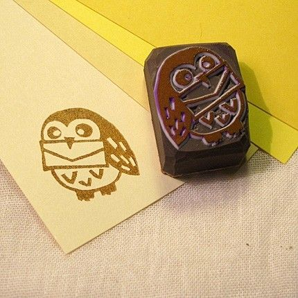 Owl post, Harry Potter stamp  Cute idea for owl tattoo, except without the letter!