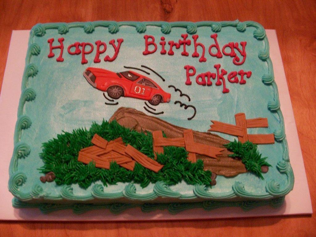 Dukes Of Hazzard Birthday Cakes Cake Recipe