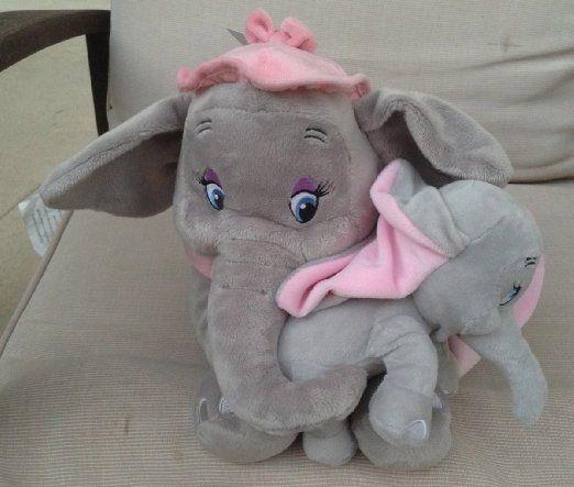 Amazon Com Disney Park Baby Dumbo And Mother Mrs Jumbo