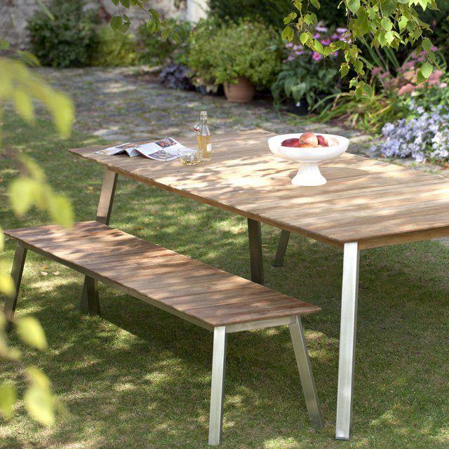 Je veux un banc pour mon jardin | Jardin Nature | Pinterest