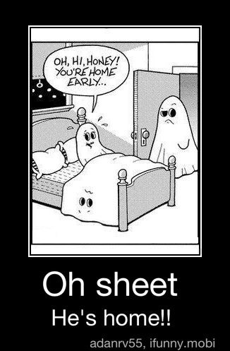 Hahaha Get It They Re Ghosts Repin By Pinterest For Ipad Halloween Jokes Halloween Funny Ghost Jokes