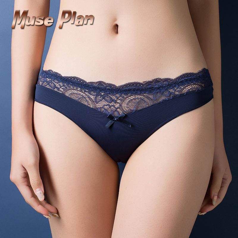 173812319e3 Europe and America size women sexy lace panties seamless cotton breathable  panty Hollow briefs Plus Size girl sexy underwear  3 Click the VISIT button  to ...