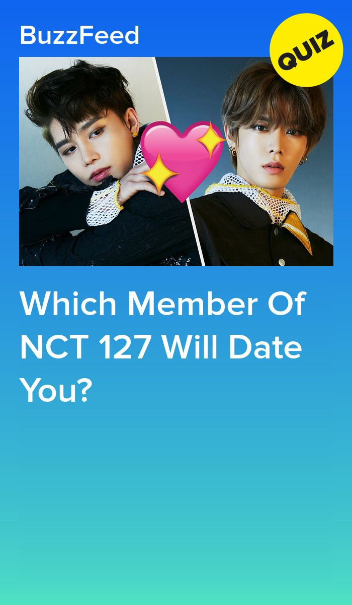 Which Member Of NCT 127 Will Date You?