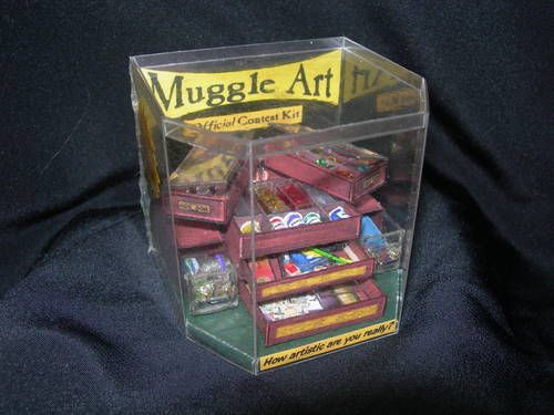 Muggle Art: The Official Contest Kit    This rocks so hard.  The detail is absolutely incredible.