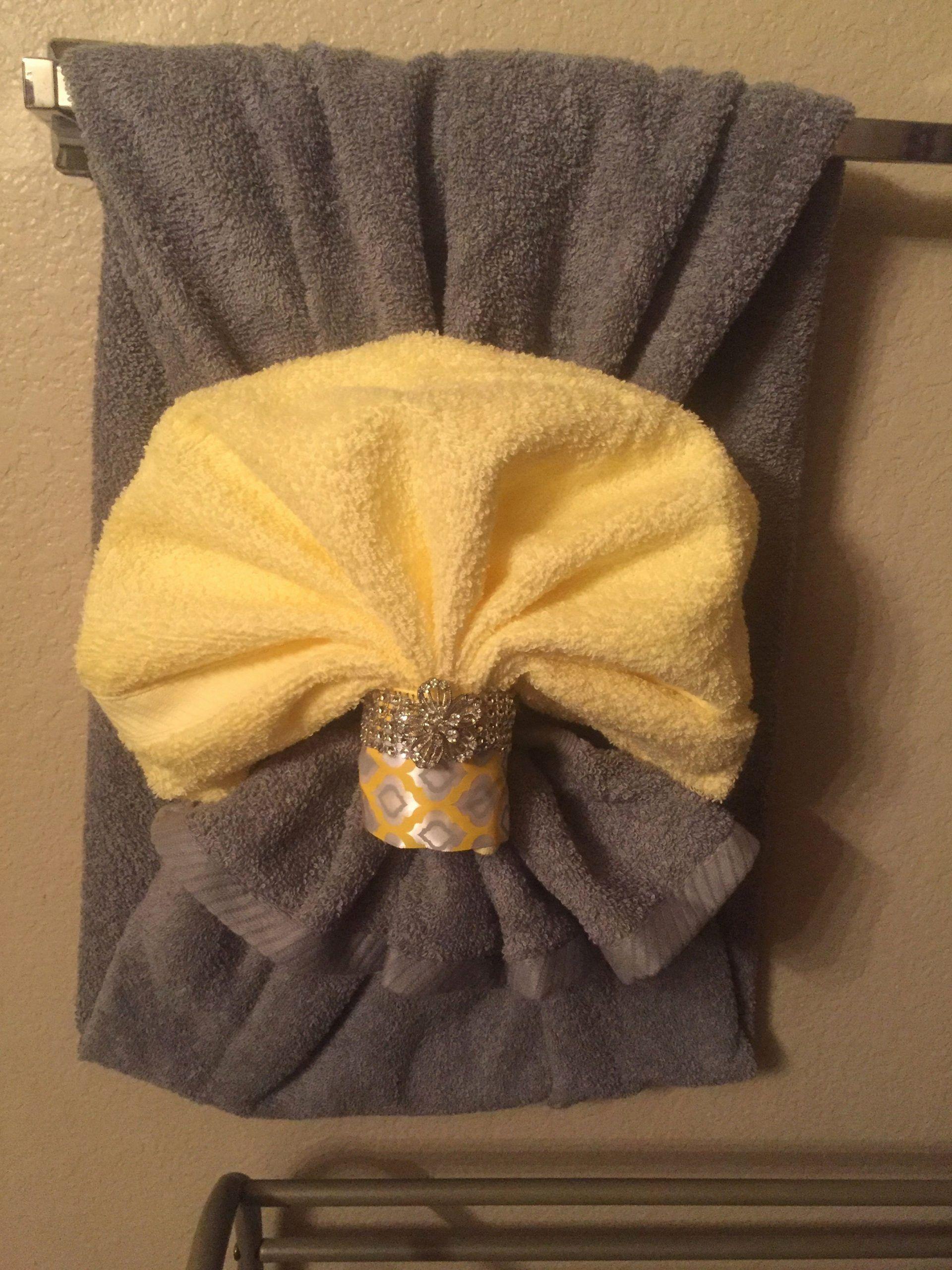 Bathroom Towel Decorating Ideas Best Of Towel Deco Decorating Ideas In 2020 Bathroom Towel Decor Decorative Towels Bathroom Towels