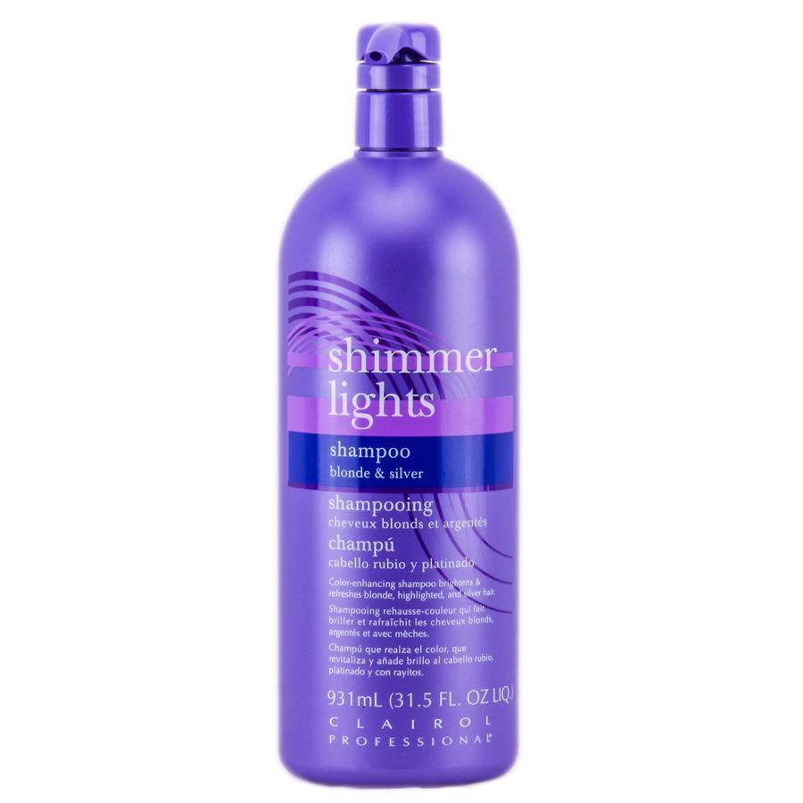 Clairol Shimmer Lights Shampoo Blonde Silver Shimmer Lights Shampoo Drugstore Hair Products Clairol Shimmer Lights