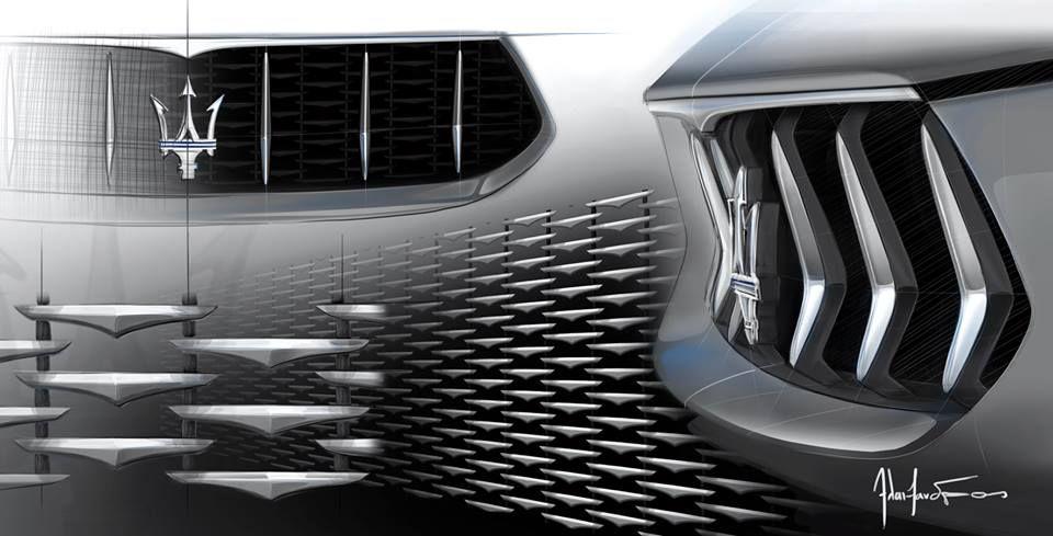 Maserati Alfieri Car Design Automotive Design Headlamp Design