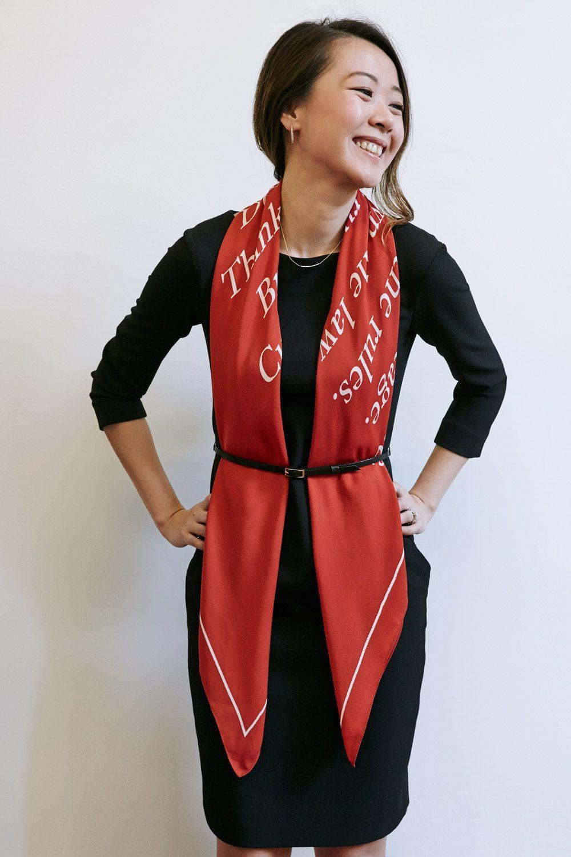Cashmere Silk Scarf - Eternal Love Silk Scarf by VIDA VIDA
