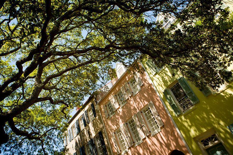 Charleston, South Carolina Rainbow row, Trip, Charleston