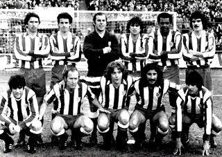 EQUIPOS DE FÚTBOL: ATLÉTICO DE MADRID 1977-78