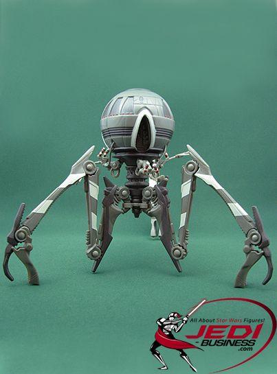 Star Wars Revenge of The Sith Mustafar Sentry Energy Bolt Figure