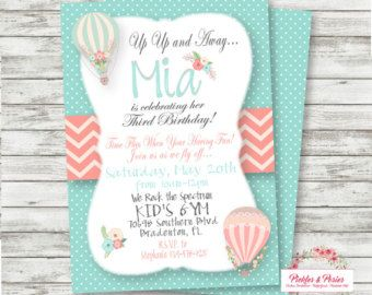 Hot Air Balloon Party Decor PIY files Hot by wwwmakemydayllccom