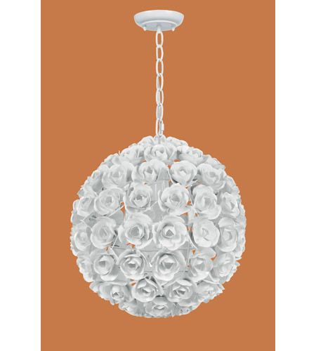 Crystorama 537 Ww Cypress 1 Light 14 Inch Wet White Mini Chandelier Ceiling